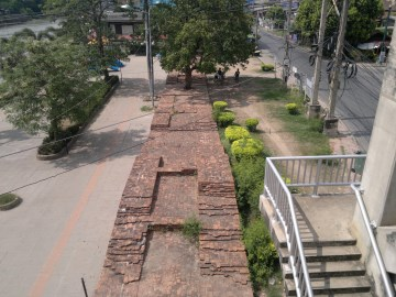 Eastern city wall of Ayutthaya