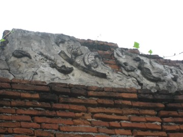 Remaining stucco