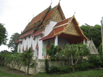 View of Wat Intharam