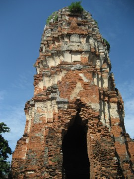 The prang of Wat Langka