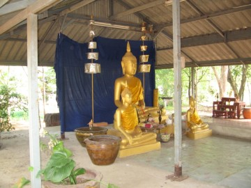 The three Buddha images