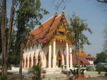 Ordination hall of Wat Pa Kho