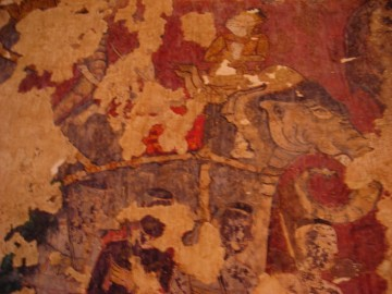 Mural paintings at Wat Pradu Songtham