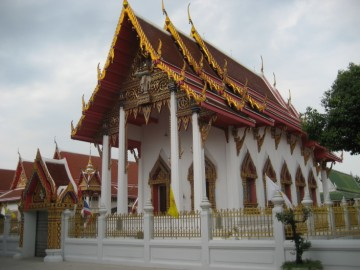 The ordination hall of Wat Prasat