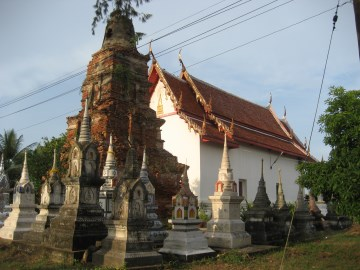 View of Wat Sanam Chai
