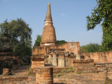 Main chedi of Wat Takrai