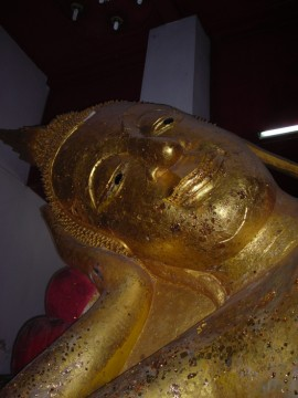 Reclining Buddha in situ