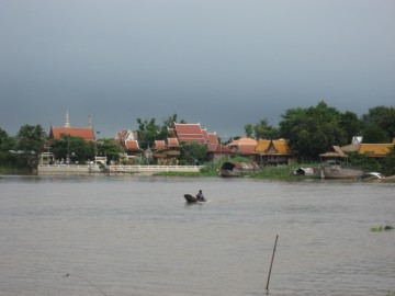 View from the Pa Sak River