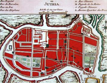 Map of Jacques Nicolas Bellin - Anno 1764